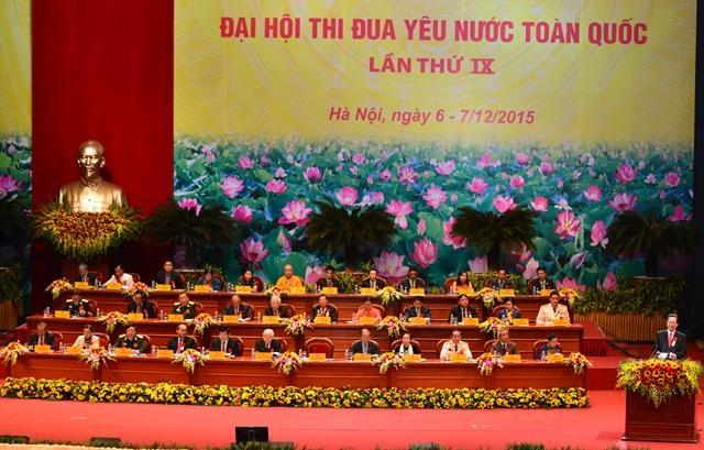 Đại hội Thi đua yêu nước toàn quốc lần thứ IX thành công tốt đẹp