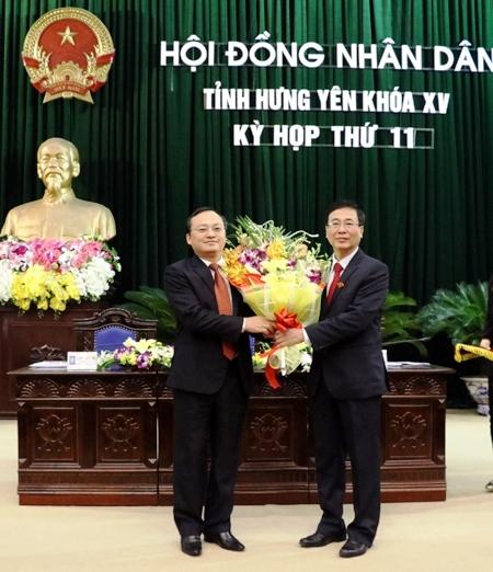 Đồng chí Đỗ Tiến Sỹ được bầu giữ chức Chủ tịch HĐND tỉnh Hưng Yên