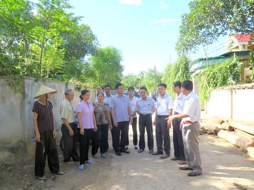 Đức Thọ phấn đấu đạt chuẩn huyện nông thôn mới đầu tiên của tỉnh Hà Tĩnh