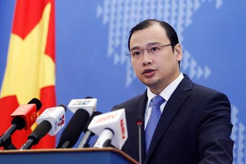 Yêu cầu Trung Quốc tôn trọng chủ quyền của Việt Nam và luật pháp quốc tế