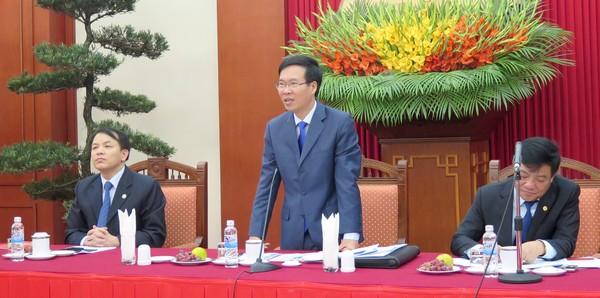Đồng chí Võ Văn Thưởng gặp mặt các điển hình tiên tiến học tập và làm theo tấm gương đạo đức Hồ Chí Minh thành phố Vinh