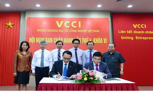 Ký kết Biên bản ghi nhớ hợp tác giữa VCCI với Sở Giao dịch Chứng khoán thành phố Hồ Chí Minh