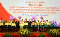 Hải Phòng Xác định các giải pháp thực hiện hiệu quả Chỉ thị 05- CT TW của Bộ Chính trị