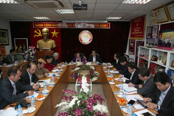 Phó Thủ tướng Vũ Đức Đam làm việc với Trung ương Hội Khuyến học Việt Nam