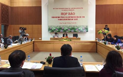 Họp báo chương trình Kỷ niệm 185 năm thành lập, 20 năm tái lập tỉnh Hưng Yên