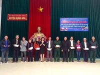 TED SAIGON tặng quà tình nghĩa tại Thái Nguyên