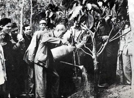 Chủ tịch Hồ Chí Minh và những câu đối Tết