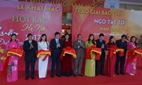 Khai mạc Hội báo xuân Đinh Dậu - Hà Nội 2017
