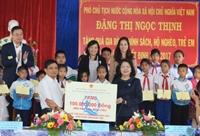 Phó Chủ tịch nước Đặng Thị Ngọc Thịnh thăm, chúc Tết tại tỉnh Kon Tum