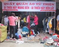 Cần nhân rộng Quầy quần áo từ thiện