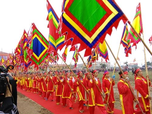 Tưng bừng Lễ hội Tịch điền Đọi Sơn năm 2017