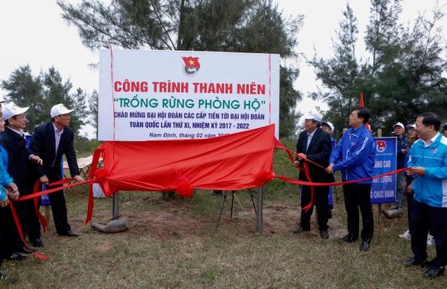 Trung ương Đoàn phát động Tết trồng cây Đời đời nhớ ơn Bác Hồ