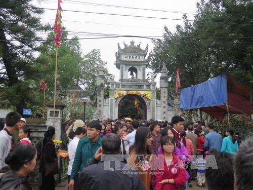 Hải Dương Khai hội làng tiến sỹ Mộ Trạch Bình Giang