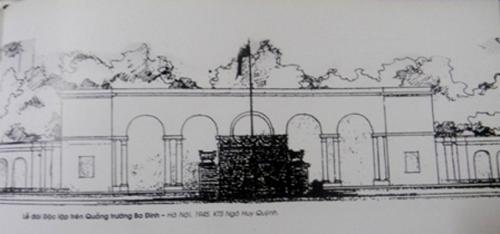 Người thiết kế Lễ đài Độc lập trên Quảng trường Ba Đình ngày 2 9 1945 quê Hưng Yên