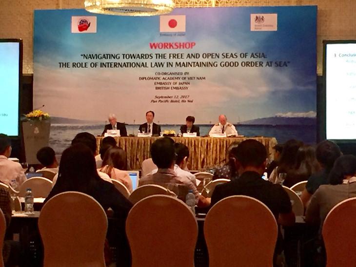 Vai trò của Luật Quốc tế trong việc duy trì trật tự trên biển