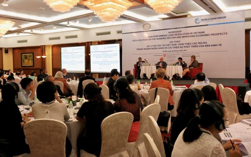 Nhóm Ngân hàng Thế giới hỗ trợ Việt Nam giải quyết nợ xấu, cải thiện nền kinh tế