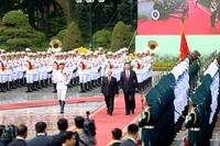 Tổng Bí thư Nguyễn Phú Trọng đón, hội đàm với Tổng Bí thư, Chủ tịch Trung Quốc Tập Cận Bình