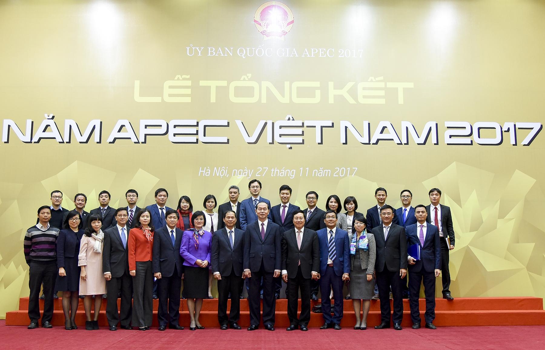 Thắng lợi của Năm APEC 2017 đặt nền móng nâng tầm quan hệ song phương giữa Việt Nam với các đối tác