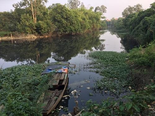 """Mỹ Hào Hưng Yên  Người dân """"kêu cứu"""" vì ô nhiễm tại khu vực sông Cầu Lường"""