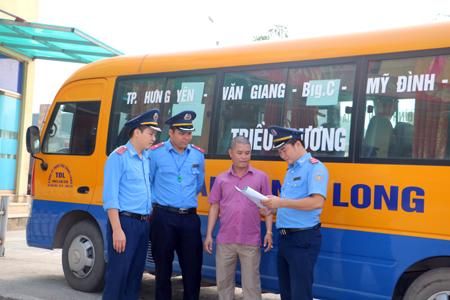 Hưng Yên Bảo đảm an toàn giao thông trong thời điểm cuối năm
