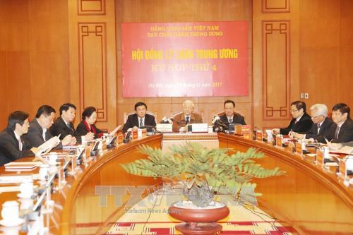 Tổng Bí thư dự Kỳ họp thứ 4 Hội đồng Lý luận Trung ương