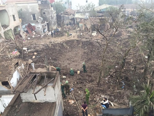 Khẩn trương xử lý 2 tấn phế liệu là vật liệu nổ tại huyện Khoái Châu, Hưng Yên