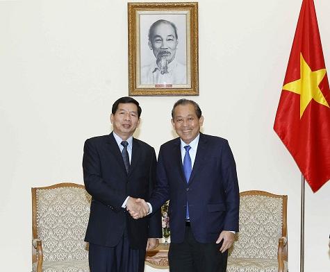 Thúc đẩy quan hệ hợp tác giữa hệ thống tòa án hai nước Việt Nam - Lào