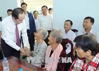 Chủ tịch nước Trần Đại Quang Tiếp tục làm tốt hơn nữa việc chăm lo đời sống cho người dân
