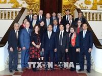 Thủ tướng Nguyễn Xuân Phúc tiếp đoàn đại biểu Hội Luật sư Hoa Kỳ