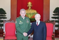 Việt Nam coi trọng phát triển quan hệ Đối tác chiến lược toàn diện với Liên bang Nga