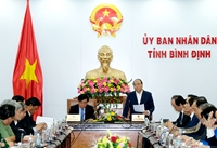 Thủ tướng Nguyễn Xuân Phúc Bình Định cần tập trung phát triển 4 trụ cột kinh tế