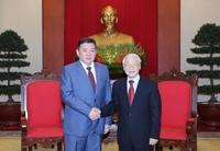 Mông Cổ coi trọng quan hệ hợp tác hữu nghị truyền thống với Việt Nam