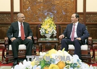 Chủ tịch nước Trần Đại Quang Việt Nam - Ai Cập còn rất nhiều tiềm năng hợp tác
