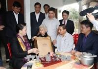 Chủ tịch Quốc hội Nguyễn Thị Kim Ngân thăm và làm việc tại tỉnh Hà Tĩnh