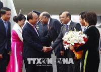 Thủ tướng Nguyễn Xuân Phúc đến New Delhi dự Hội nghị Cấp cao ASEAN - Ấn Độ