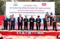 Thủ tướng Nguyễn Xuân Phúc dự lễ động thổ trụ sở mới Đại sứ quán Việt Nam tại Ấn Độ