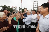Tổng Bí thư Nguyễn Phú Trọng trả lời phỏng vấn TTXVN dịp Xuân Mậu Tuất 2018 Lòng dân - thế nước