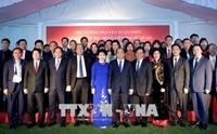 Thủ tướng Nguyễn Xuân Phúc gặp gỡ cán bộ, nhân viên Đại sứ quán Việt Nam tại Ấn Độ