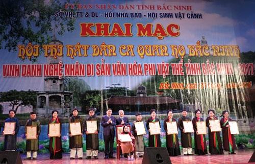 Bắc Ninh Khai mạc Hội Xuân Mậu Tuất 2018 