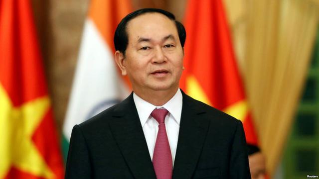 Chủ tịch nước Trần Đại Quang thăm cấp Nhà nước tới Ấn Độ và Băng-la-đét