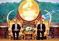Thủ tướng Nguyễn Xuân Phúc hội kiến lãnh đạo cấp cao Đảng, Nhà nước Lào