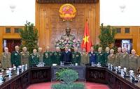 Thủ tướng Nguyễn Xuân Phúc gặp mặt các cựu chiến binh Điện Biên Phủ TP Hải Phòng