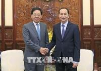 Chủ tịch nước Trần Đại Quang tiếp Đại sứ Trung Quốc Hồng Tiểu Dũng nhân dịp kết thúc nhiệm kỳ