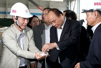Thủ tướng làm việc với lãnh đạo chủ chốt tỉnh Đắk Nông