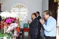 Thủ tướng dâng hương tưởng nhớ các đồng chí nguyên lãnh đạo Nhà nước, Chính phủ