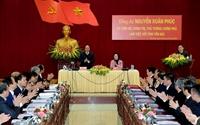 Thủ tướng Nguyễn Xuân Phúc thăm và làm việc tại Yên Bái
