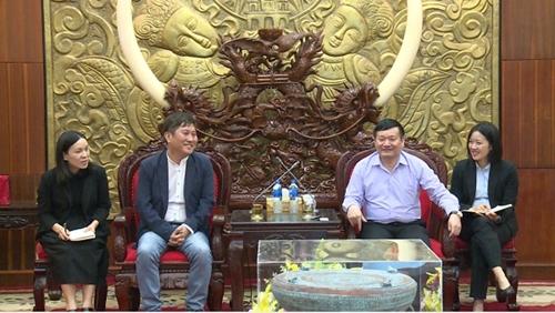 Đoàn doanh nghiệp thành phố Siheung – Hàn Quốc tìm hiểu cơ hội đầu tư tại Hưng Yên