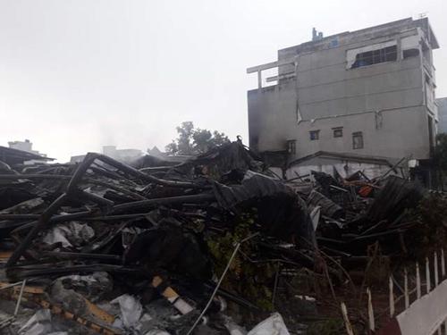 Tập trung khắc phục hậu quả vụ cháy chợ Gạo Hưng Yên