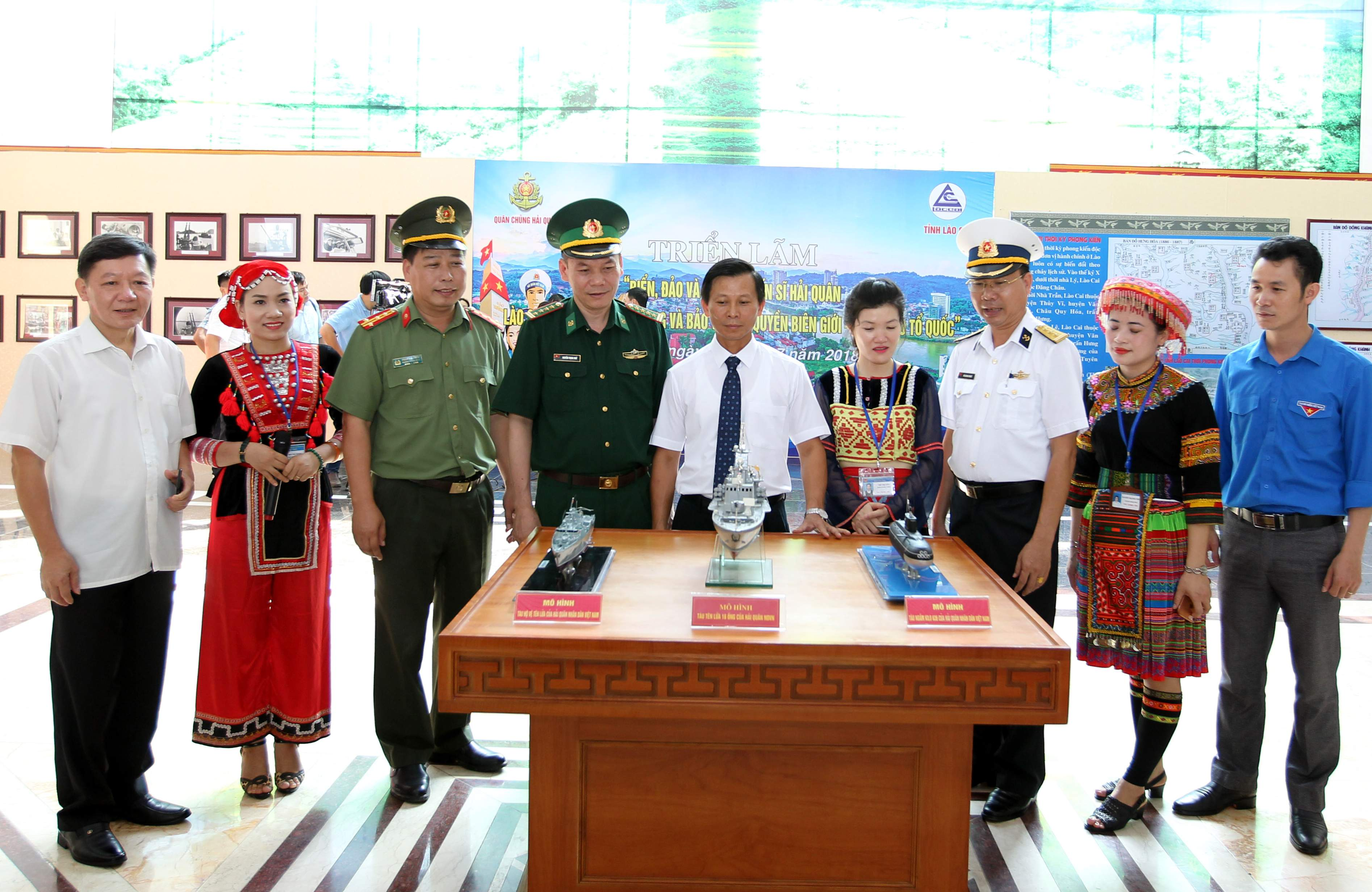 Lào Cai Triển lãm Biển, đảo và người chiến sĩ Hải quân