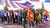 Kon Tum Khánh thành Ngôi mộ chung của 34 liệt sĩ tại Chư Tan Kra